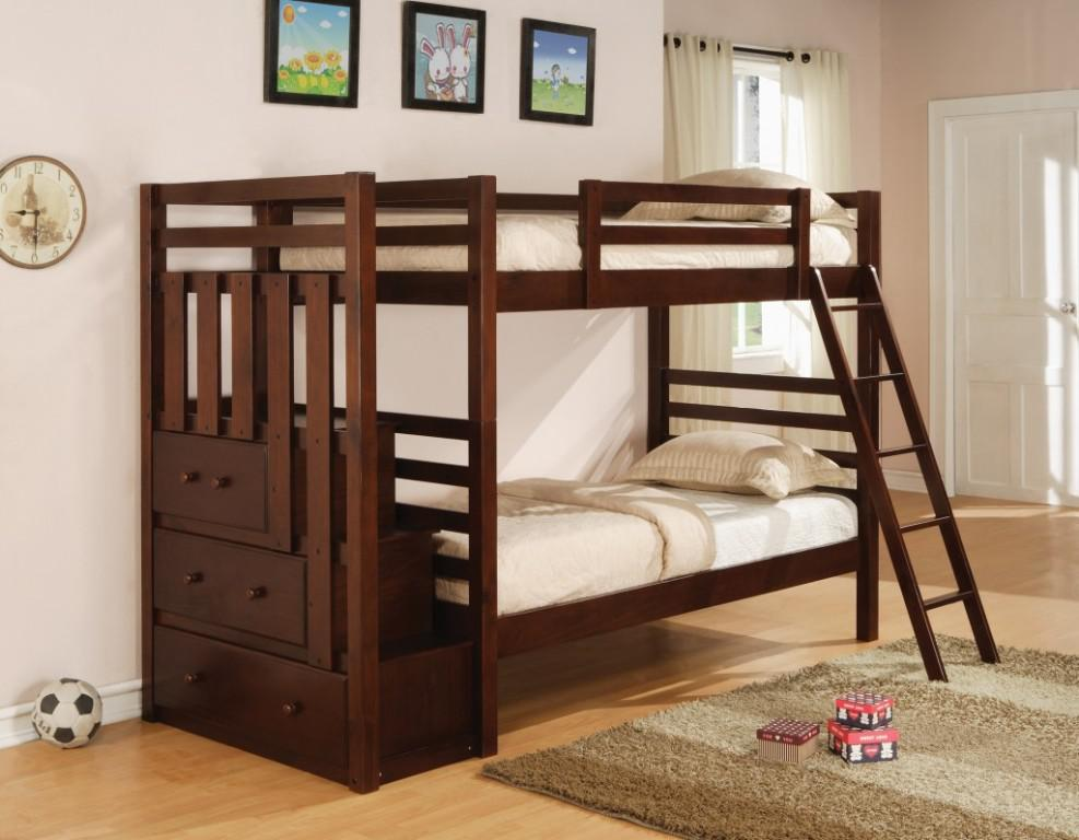 Image of: Queen Bunk Bed for Adults