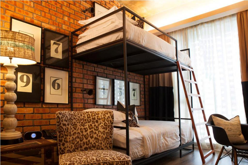 Queen Over Bunk Bed for Adults