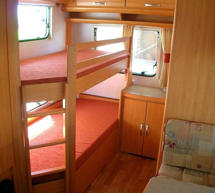 Image of: RV With Bunk Beds Picture