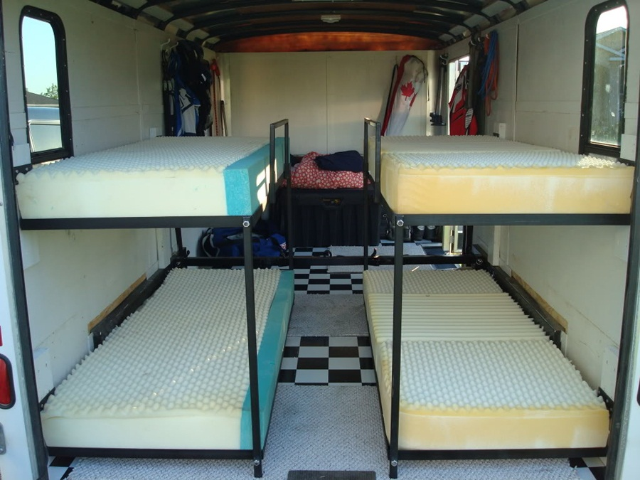Image of: RV With Bunk Beds