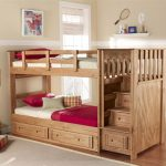 Solid Wood Bunk Bed Stairs