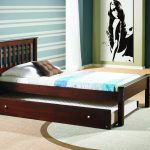 Solid Wood Twin Bed Image