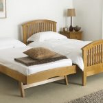 Solid Wood Twin Bed with Storage