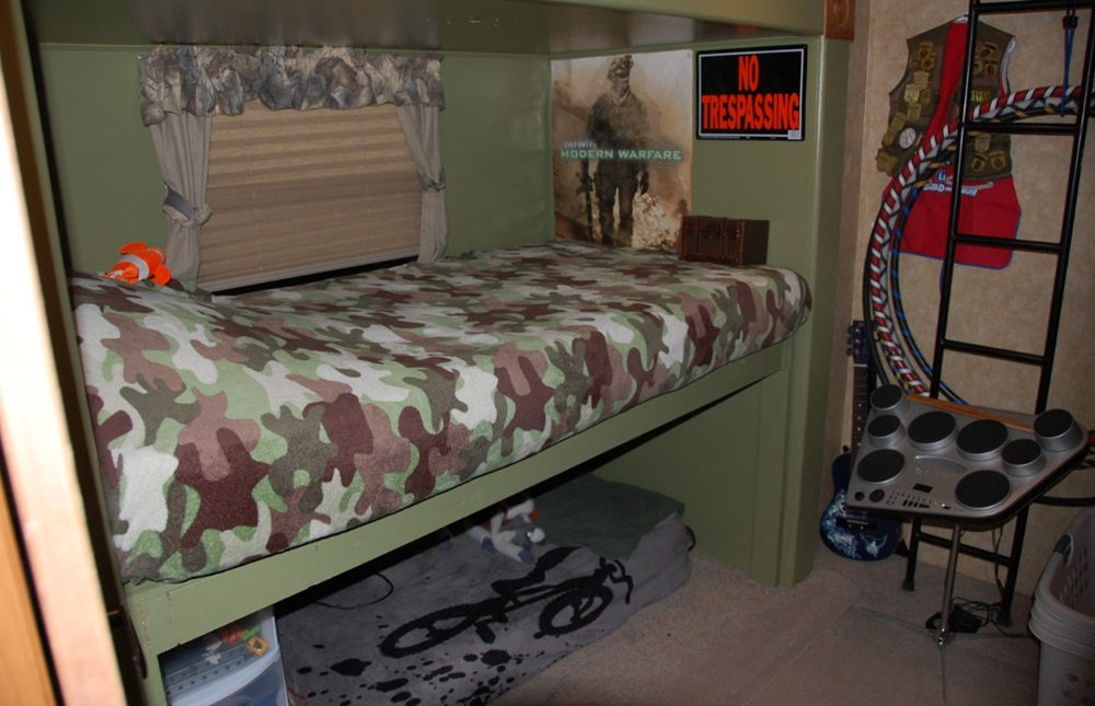 Image of: Style RV With Bunk Beds