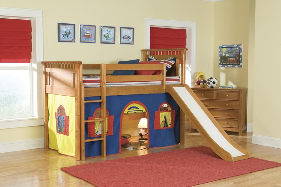 Top Loft Beds For Kids With Slide