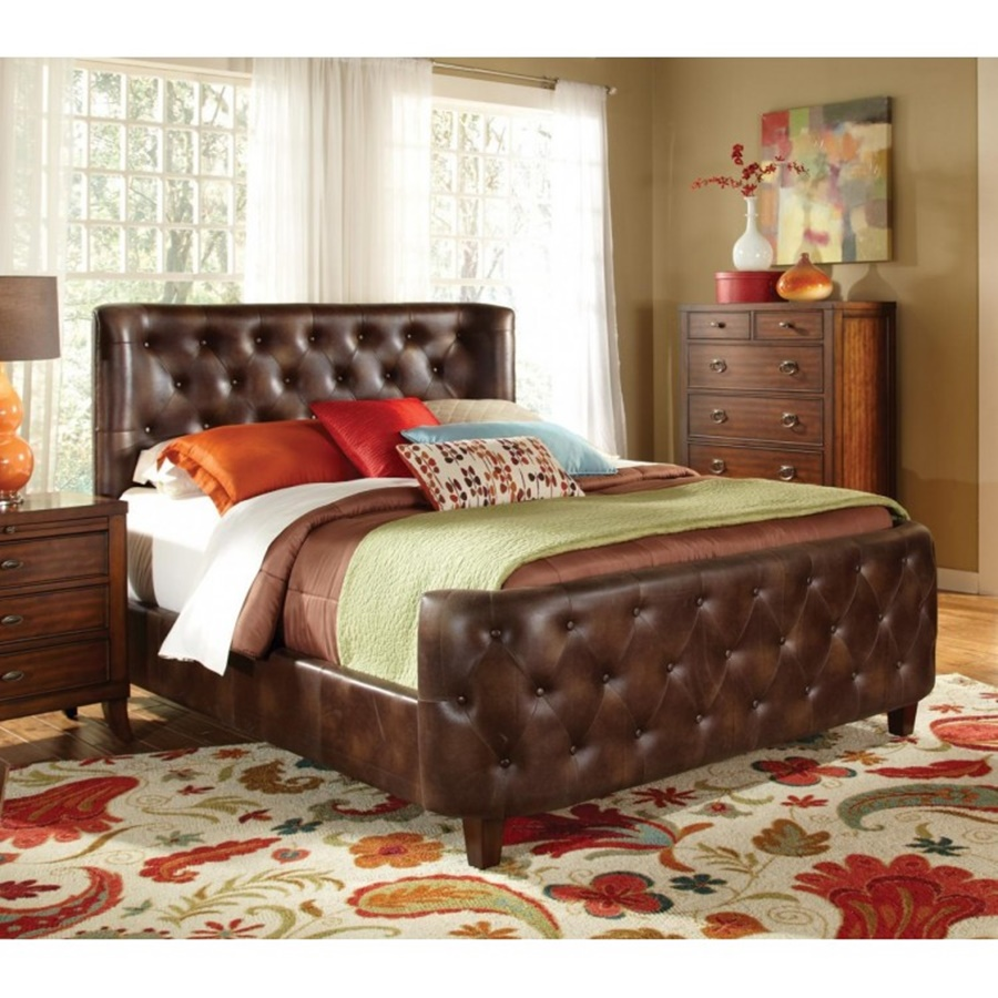 Tufted Eastern King Bed Frame