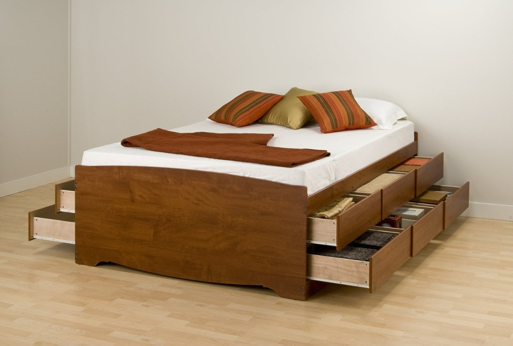 Image of: Twin Bed With Drawers Underneath Ideas