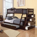 Twin Full Bunk Beds With Stairs And Trundle