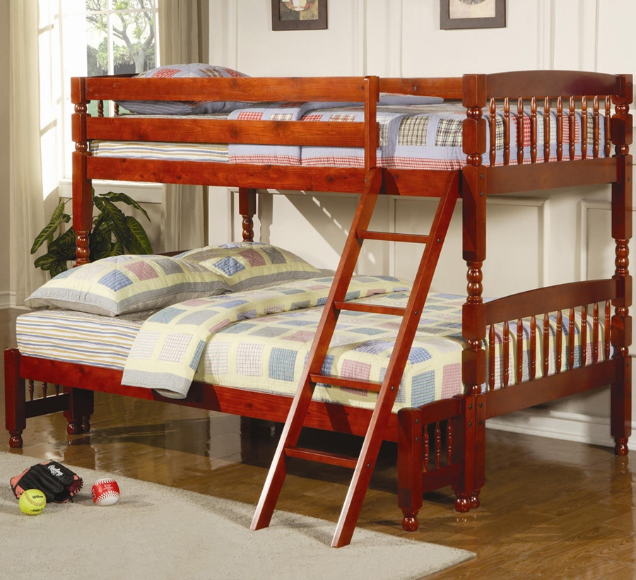 Image of: Twin Full Bunk Beds With Stairs Images