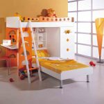 Twin Kids Bunk Beds with Desk