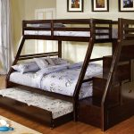 Twin Over Twin Bunk Beds With Stair