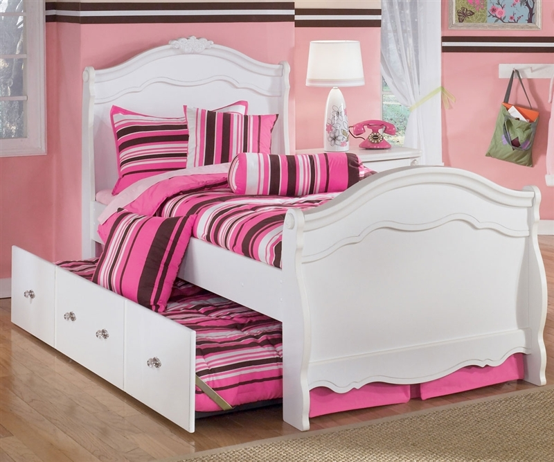 Image of: Twin Trundle Beds Ashley