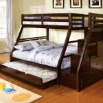 Twin Trundle Beds Black Wood