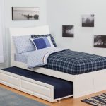 Twin Trundle Beds Strip Pattern