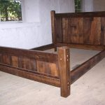 Twin Wood Bed Frame Rustic