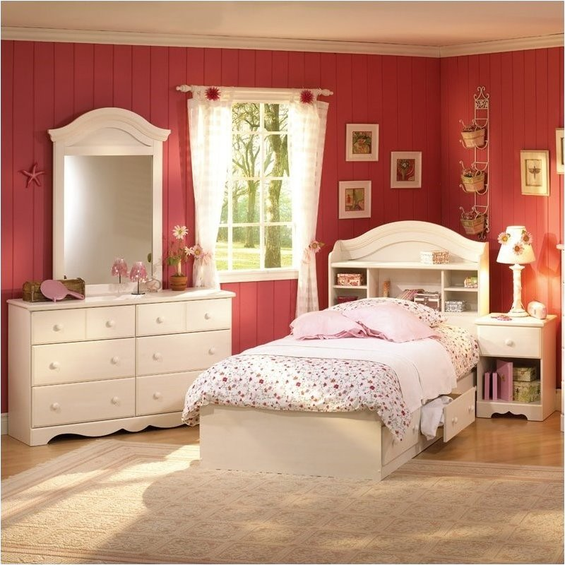 Twin Wood Bed Frame Summer Breeze