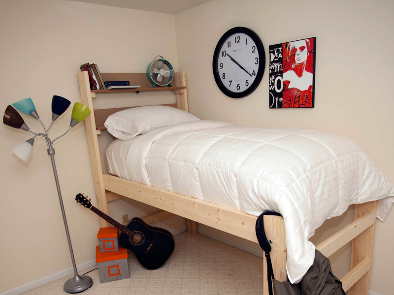 Image of: Twin Xl Beds College