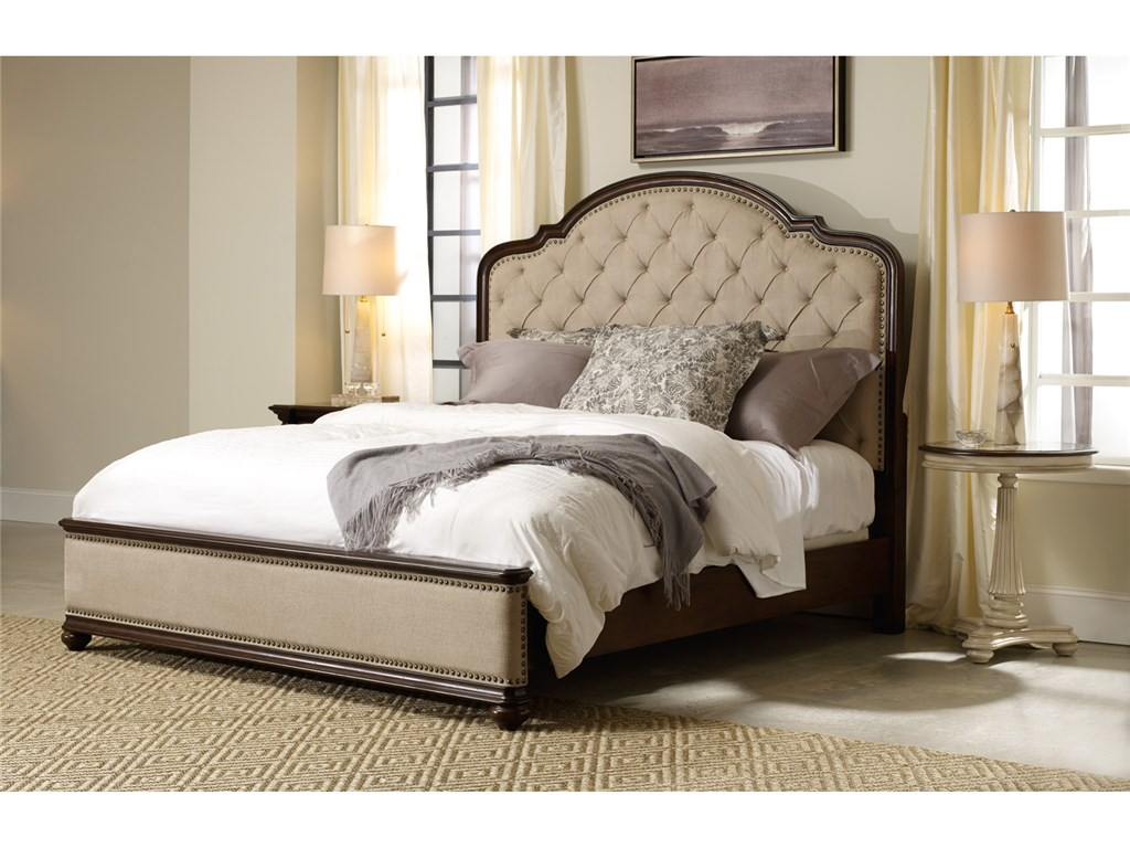 Image of: Upholstered King Bed Ideas