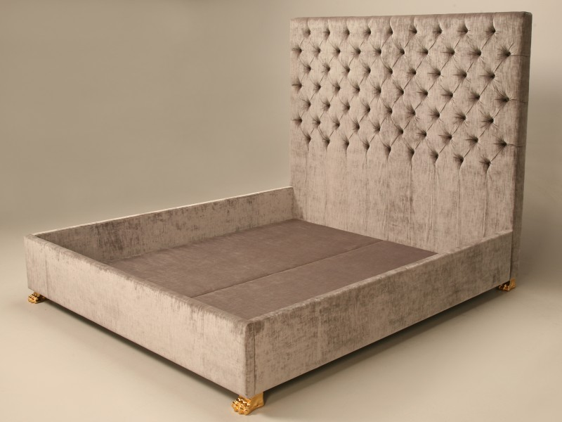 Image of: Upholstered King Bed Image