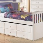 White Twin Bed With Drawers Underneath