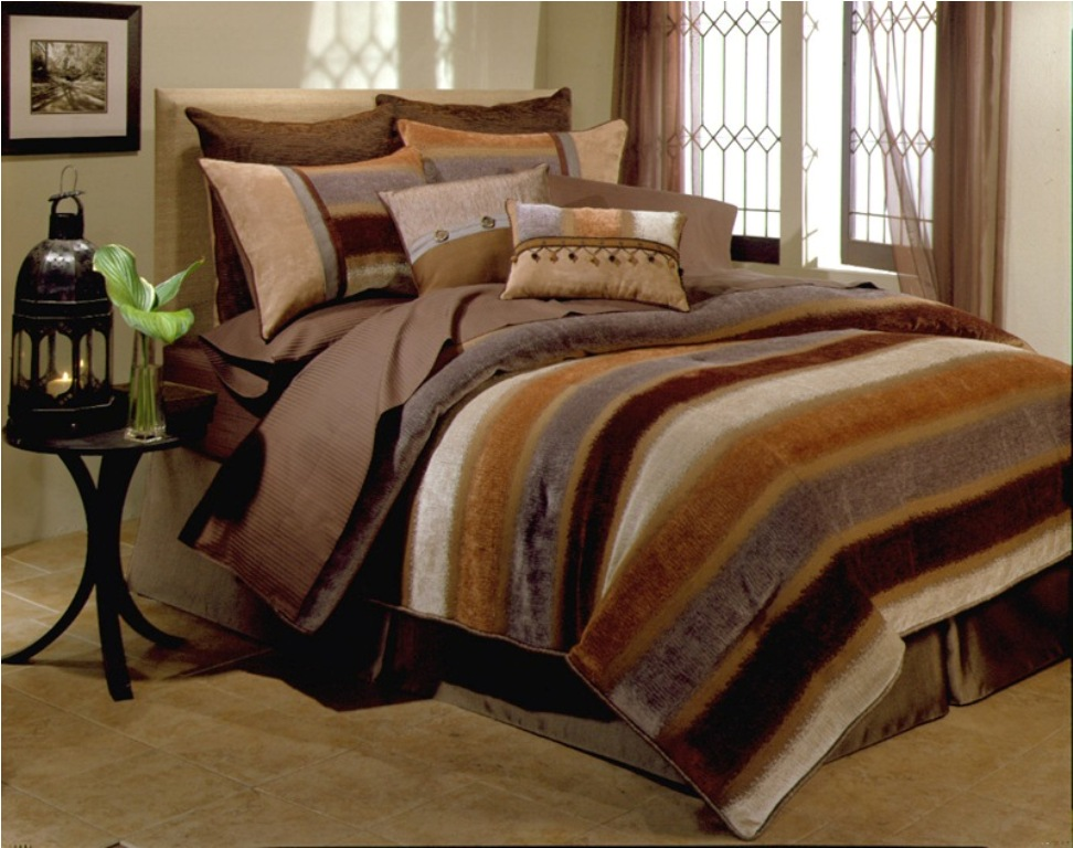 Image of: Aqua Bedding Sets King