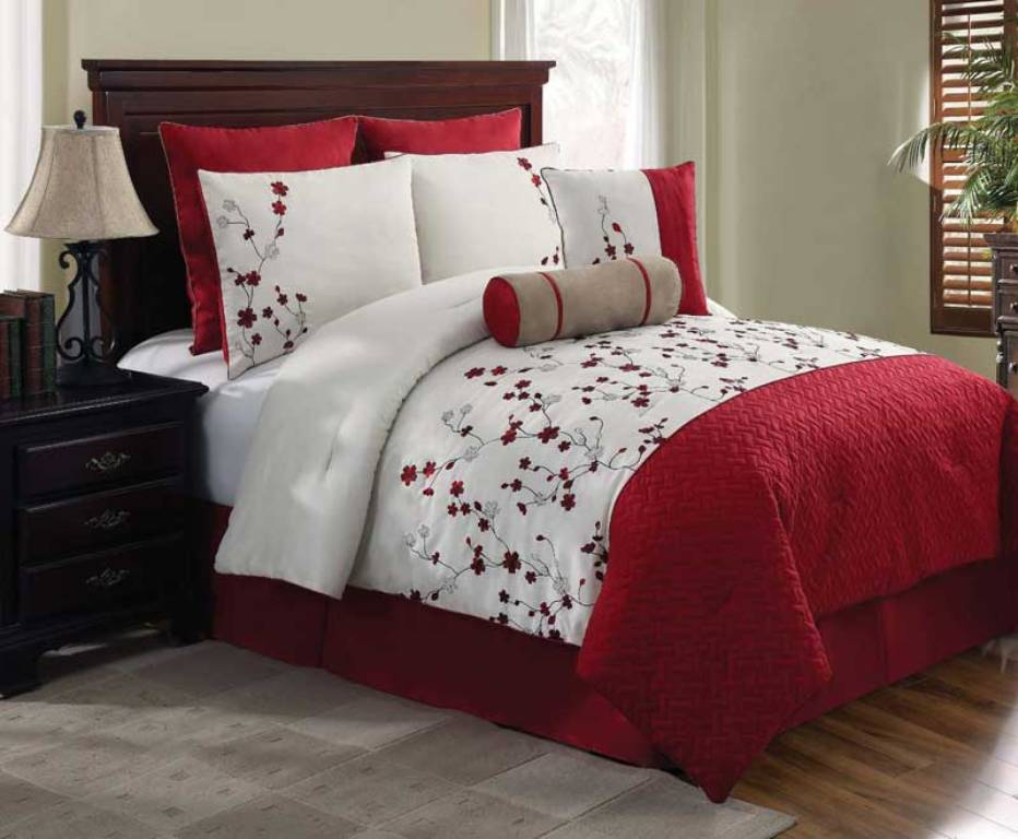 Image of: Bedding Sets King Size with Curtain