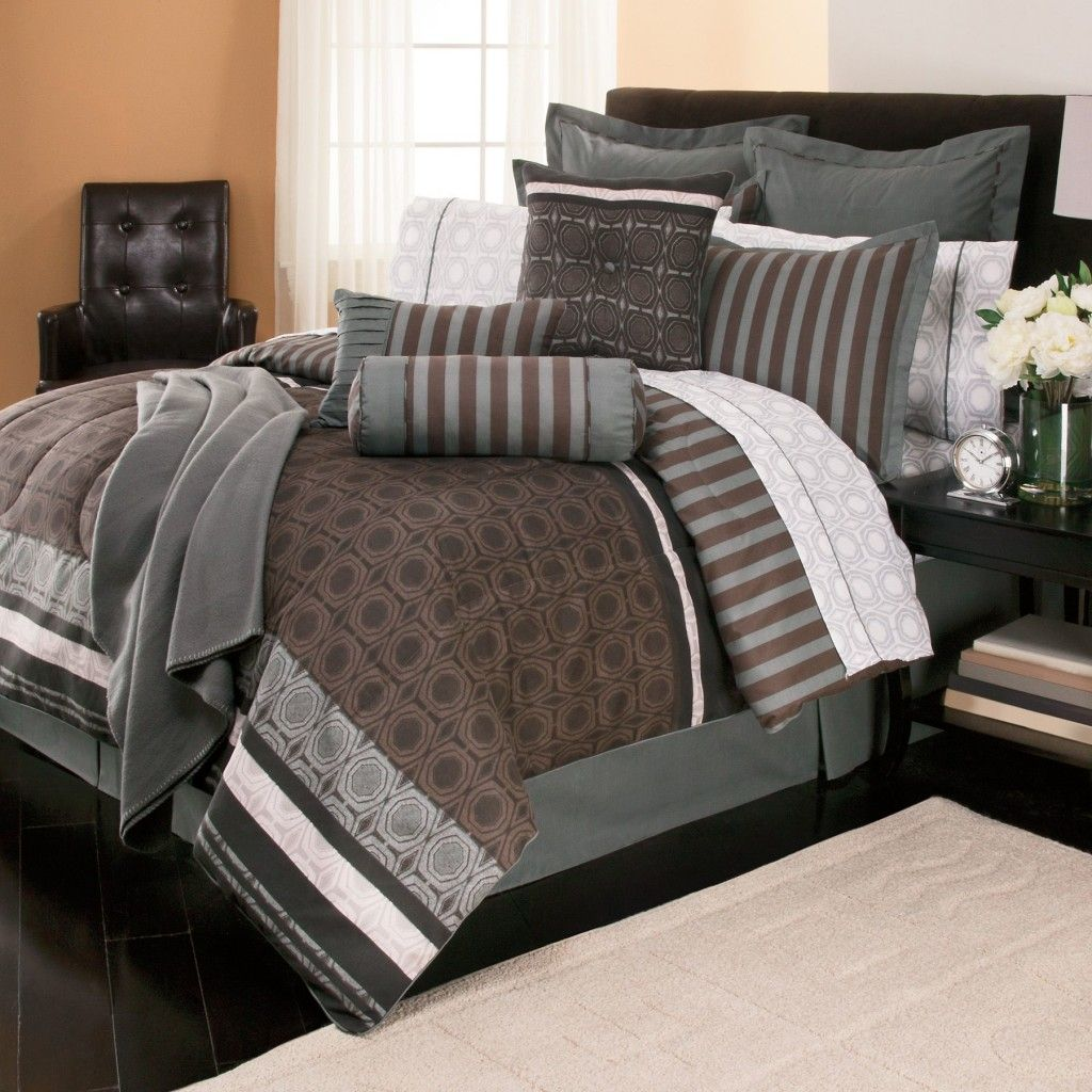 Image of: Bedding Sets Queen Black