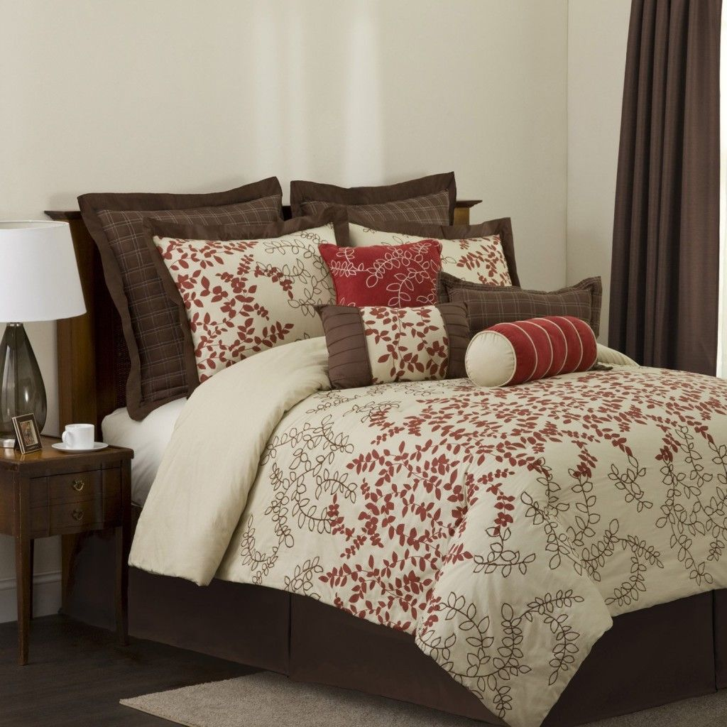 Image of: Bedding Sets Queen Brown