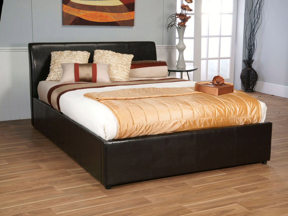 Image of: Best King Size Storage Bed