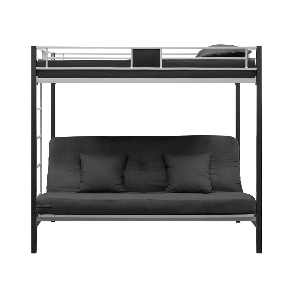 Image of: Black Futon Couch Bunk Bed