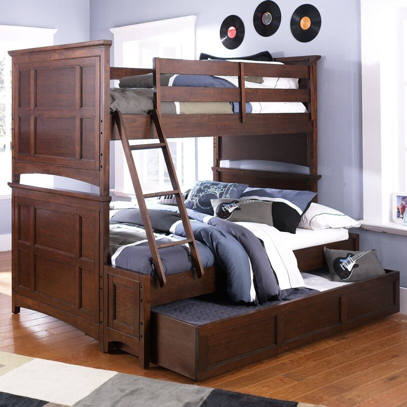 Image of: Boy Bunk Bed Twin Over Full