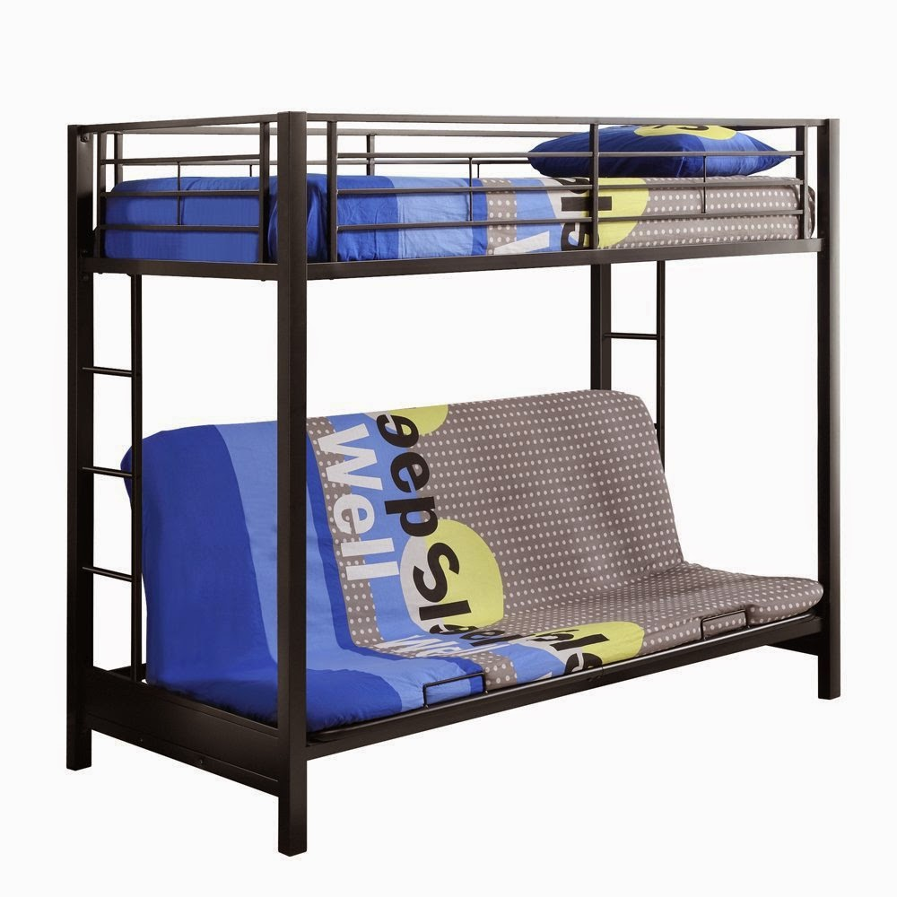Image of: Boy Futon Couch Bunk Bed