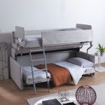 Bunk Bed Couches Grey