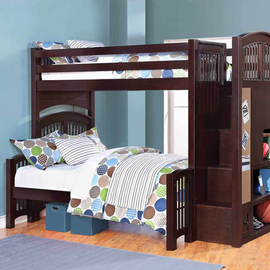 Image of: Bunk Bed Twin Over Full Decor