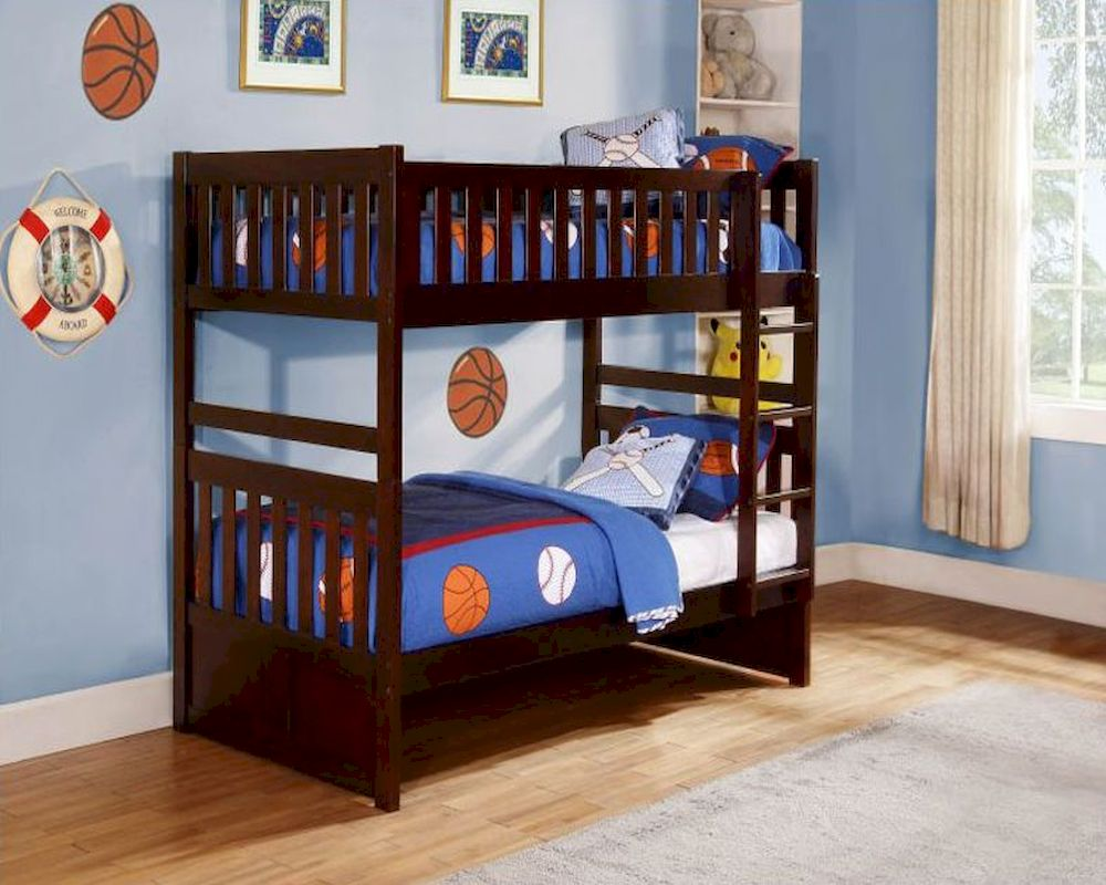 Image of: Bunk Loft Beds for Small Rooms
