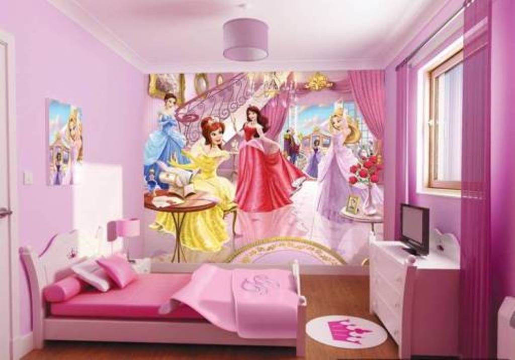 Image of: Children's Disney Princess Bedroom Furniture