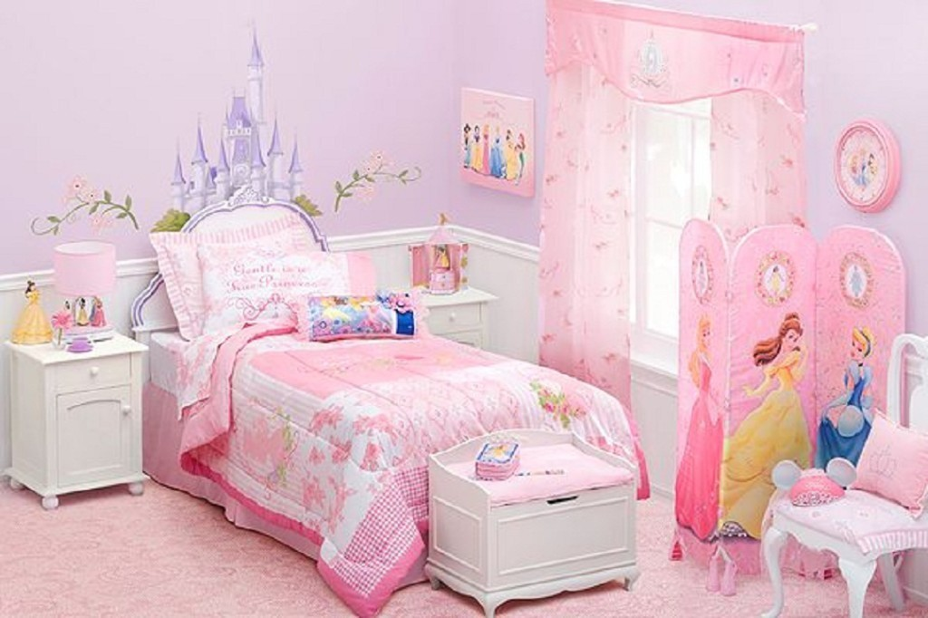Image of: Cinderella Disney Princess Bedroom Furniture