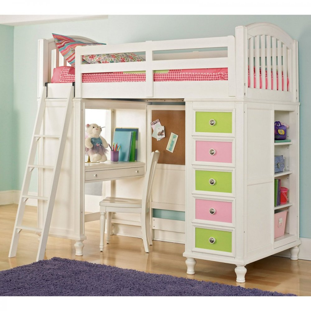 Image of: Color Cool Bunk Beds