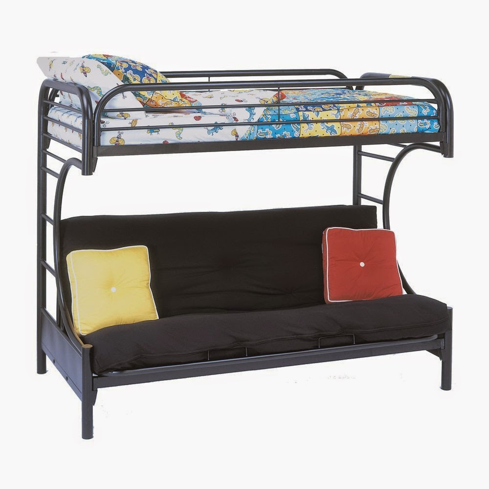 Image of: Contemporary Futon Couch Bunk Bed