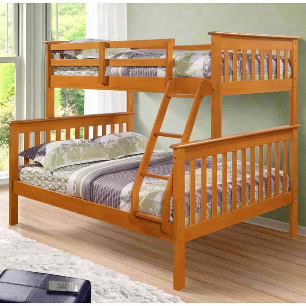 Image of: Custom Bunk Beds Twin Over Full