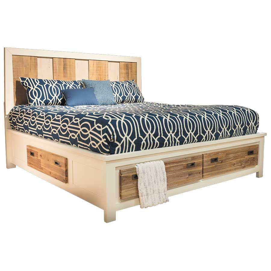 Image of: Cute King Storage Bed