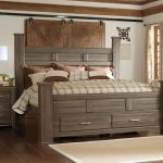 Design King Size Storage Bed