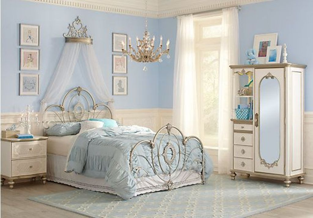 Image of: Disney Princess Bedroom Furniture Ideas