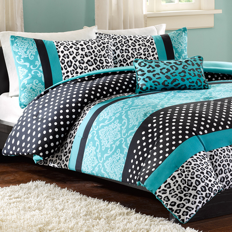Image of: Dorm Room Bedding Sets Animal Pattern