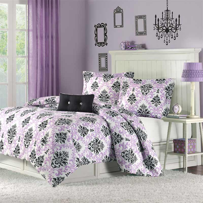 Image of: Dorm Room Bedding Sets Natural Pattern
