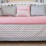 Elephant Chevron Baby Bedding