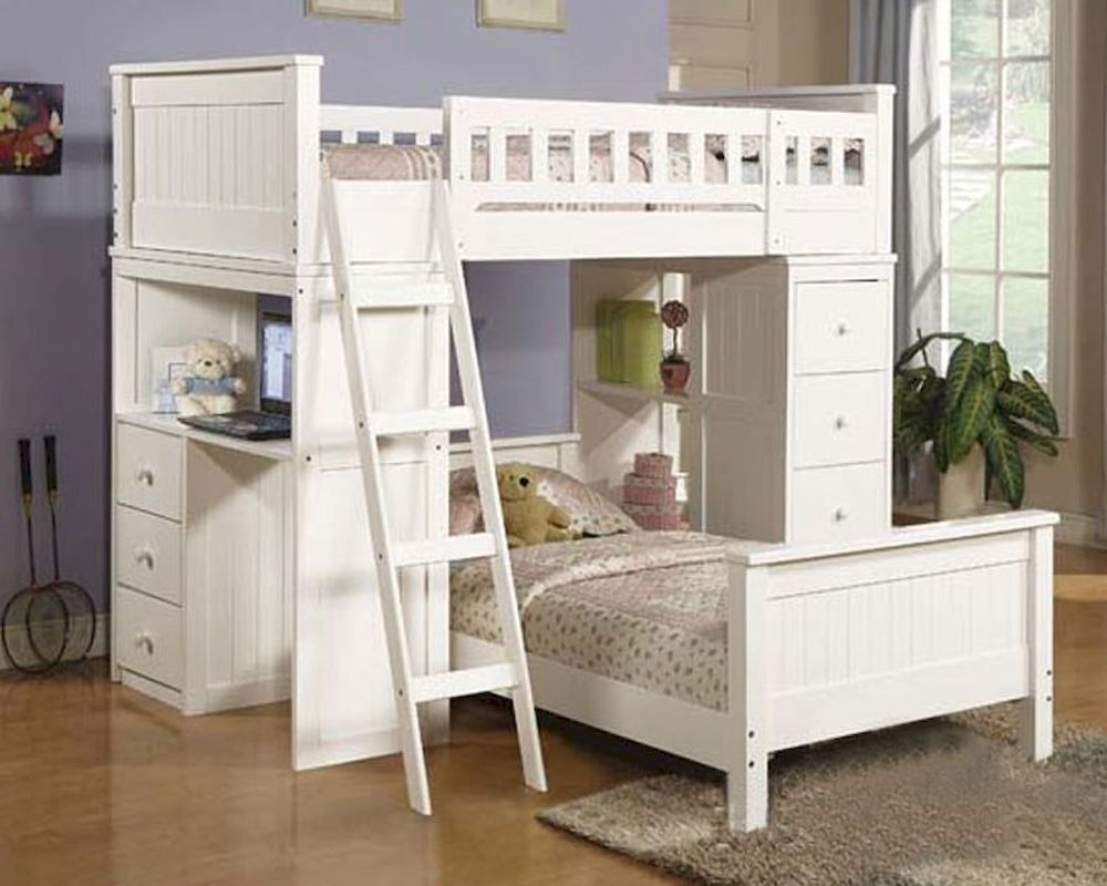 Image of: Furniture Loft Beds for Small Rooms