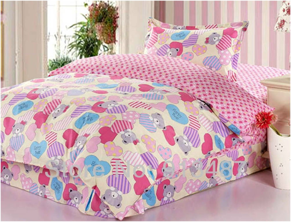Image of: Girls Bedding Sets Twin Sets Twin