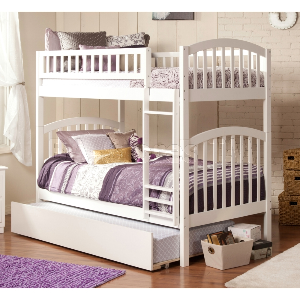 Image of: Girls Bunk Beds Twin Over Full
