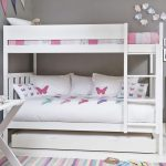 Girls Futon Couch Bunk Bed